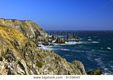 Rugged Sea Coast