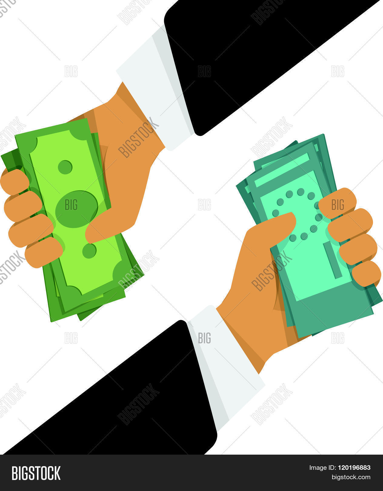 Currency Exchange Vector Photo Free Trial Stock