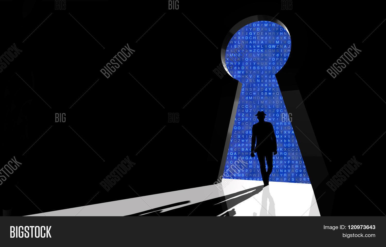 Black Hat Hacker Walks Image & Photo (Free Trial) | Bigstock