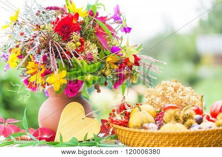 Autumn Bouquet, Colorful Autumn Decoration