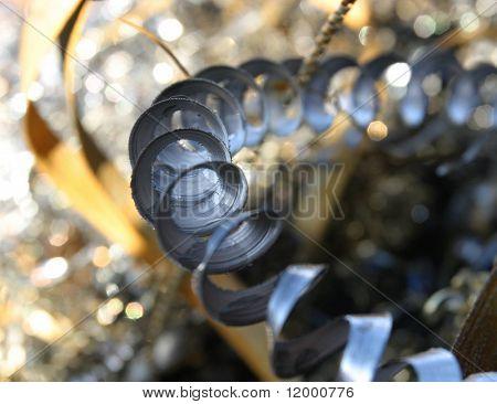 Metal Shavings (selective focus)