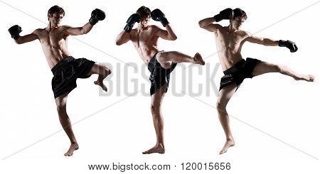 Kick boxer.