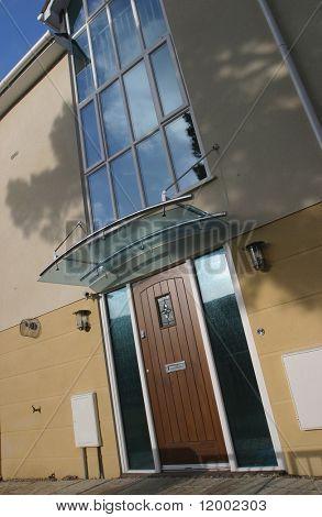 Front Door of new house