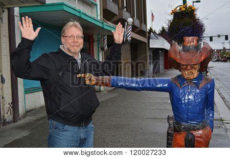 Stick 'Em Up in Anchorage, Alaska