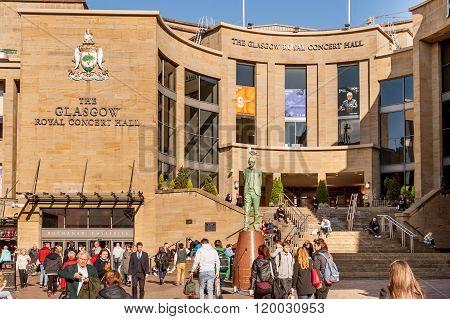 The Glasgow Royal Concert Hall.