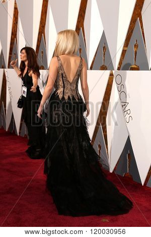 LOS ANGELES - FEB 28:  Jennifer Lawrence at the 88th Annual Academy Awards - Arrivals at the Dolby Theater on February 28, 2016 in Los Angeles, CA