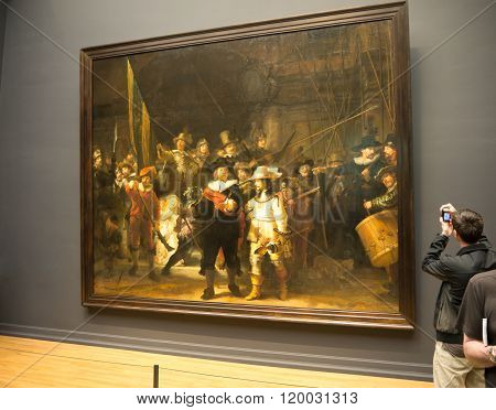 Nightwatch by Rembrandt st Rijksmuseum