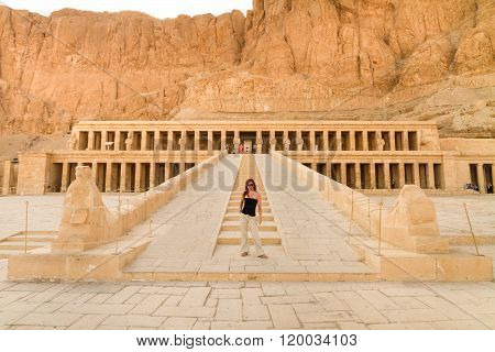 Mortuary Temple of Hatshepsut, Luxor, Egypt.
