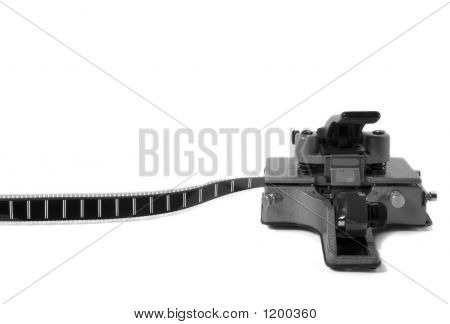 Movie Film Splicer 3 (Black And White)