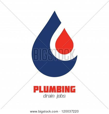 Plumbing or Water Supply Business Sign
