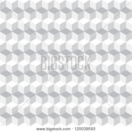 Cubic Seamless Pattern Background
