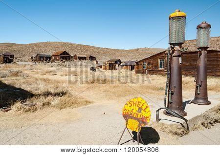 Bodie State Historic Park,  Ghost Town In The Bodie Hills, Mono County, California, United States