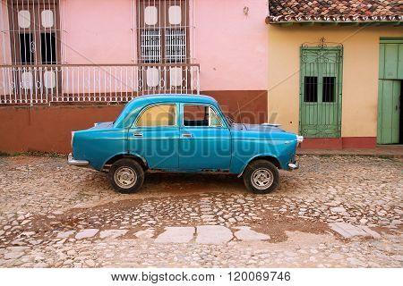 Cuba classic car