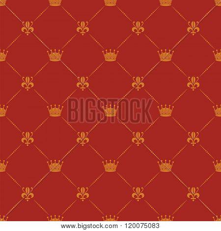 Crown Royal Seamless Pattern