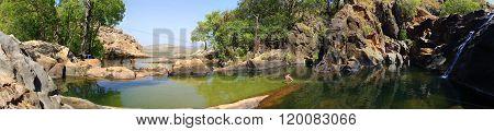 gunlom in kakadu national park, nt australia