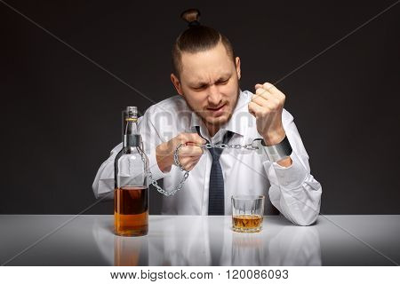 Alcohol dependence in men
