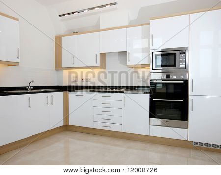 Luxury New Kitchen with integrated appliances