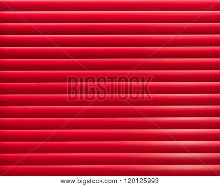 Red Blinder Panel