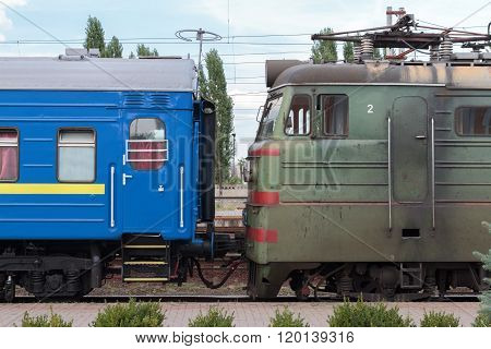 Railway Electric Train