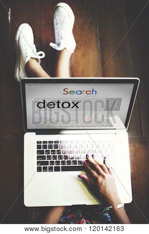 Detox Detoxification Detoxify Health Healthy Toxic Concept