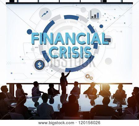 Financial Crisis Depression Downturn Economy Concept
