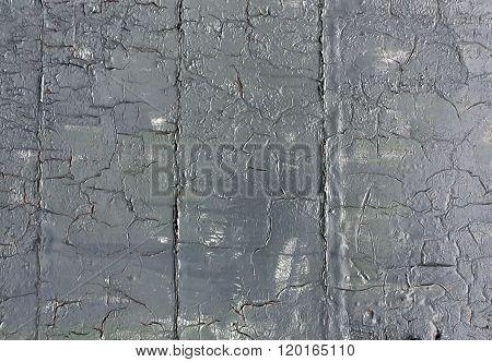 Grey Weathered Metal Wall Texture.
