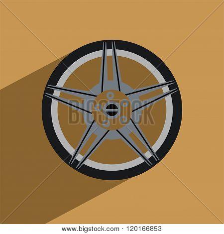 Wheel modification flat design