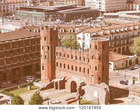 Torri Palatine Turin Vintage