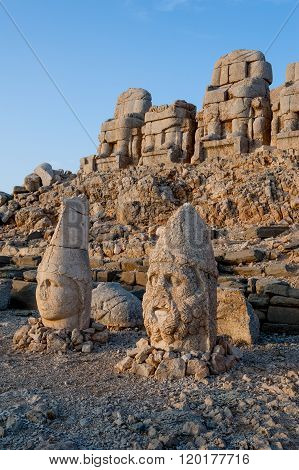 West Terrace Of Mount Nemrut.