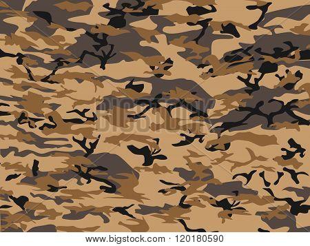 Urban Camouflage Brown