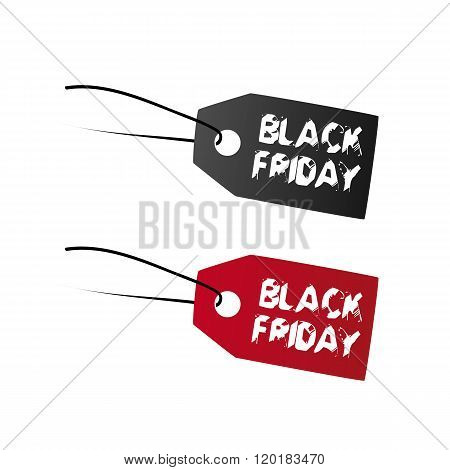 Black Friday super sale labels and background