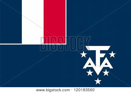 Standard Proportions For French Southern And Antarctic Lands Unofficial Flag