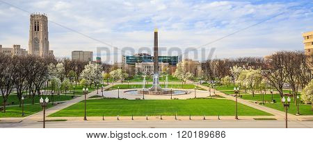 Indiana Veterans Memorial Plaza