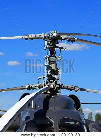 Upper Part Of The Helicopter