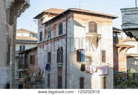 Italy, Rome, Garbatella