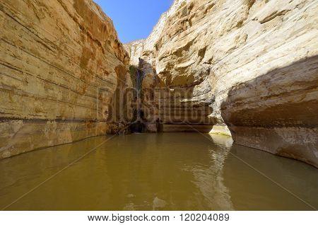 Waterfall Ein Avdat