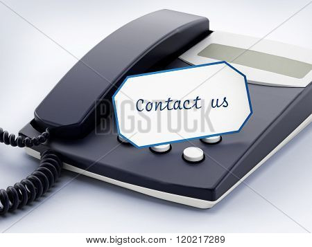 Contact Us Note