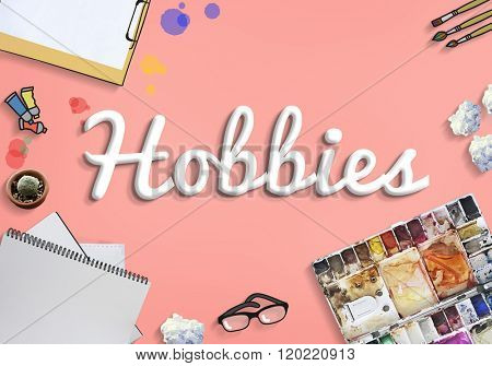 Hobbies Hobby Leisure Activity Freetime Pleasure Concept