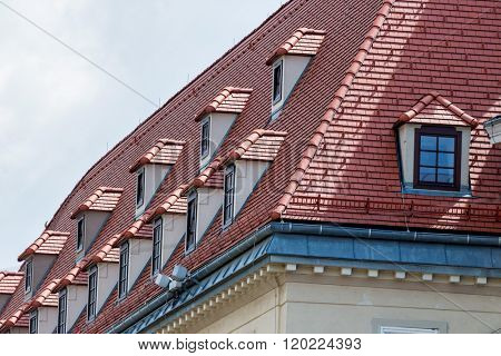 equipped penthouses with dormers