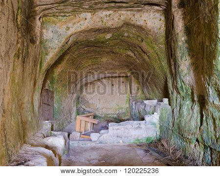 Unimproved Sasso, Matera, Italy