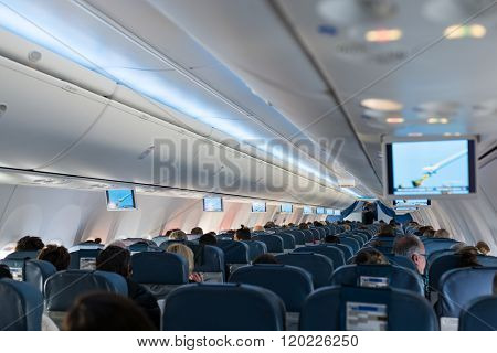 Cabin in Aircraft