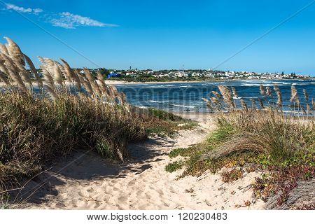 La Barra Beach Near Punta Del Este In Uruguay