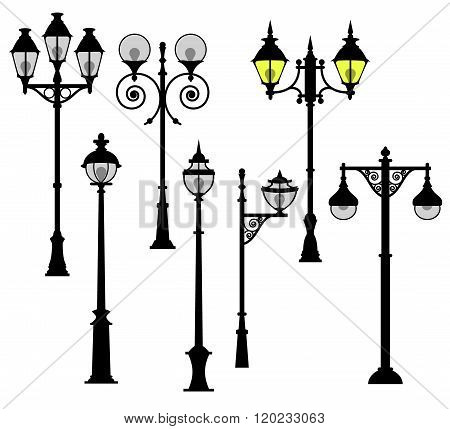 Street Lights Set