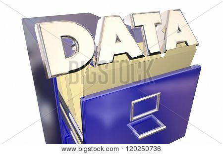 Data Storage Information Access Retireval File Cabinet
