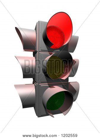 Silver Traffic Light