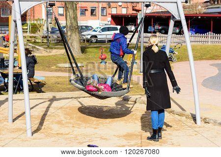 Large Swing