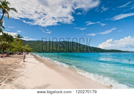 Magens Bay - The World Famous Beach On St Thomas In The U.S.V.I.