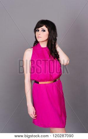 Stylish young girl