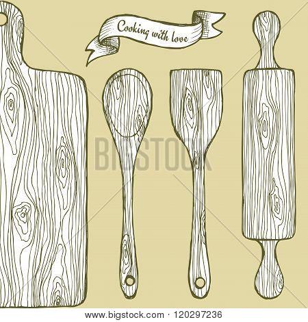 Wooden Utencil