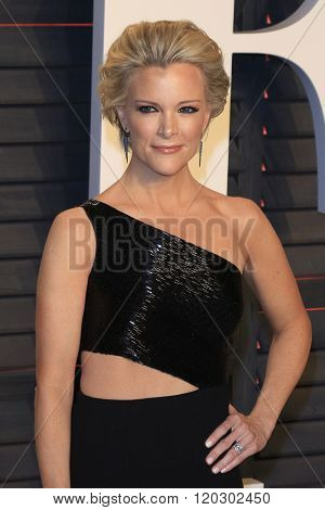 BEVERLY HILLS - FEB 28: Megyn Kelly at the 2016 Vanity Fair Oscar Party on February 28, 2016 in Beverly Hills, California